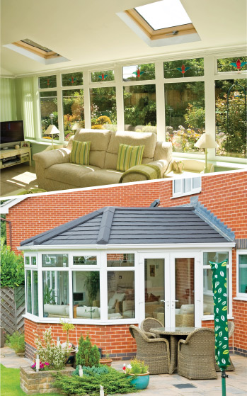 Guardian Solid Roof Conservatory Installations